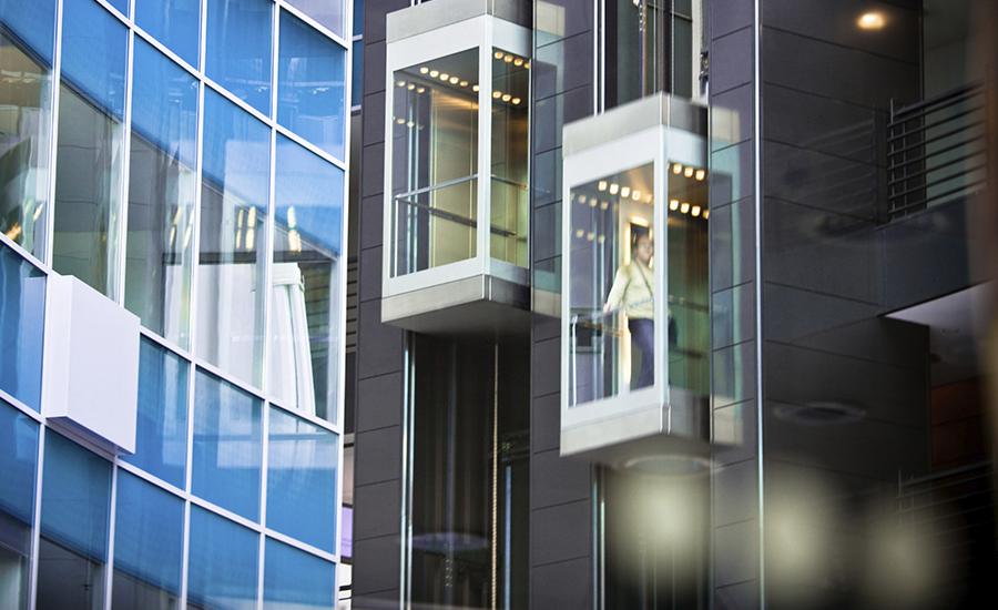 Microsoft está criando elevadores inteligentes que sabem quando você quer entrar